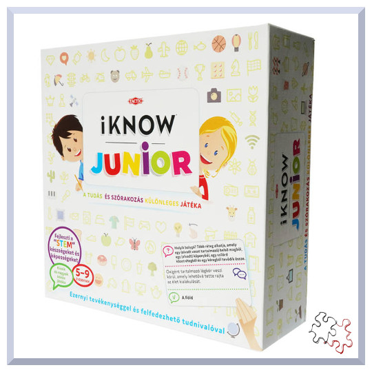 iKNOW JUNIOR turkáló